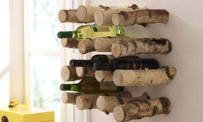 Möbel Aus ästen Selber Bauen flaschenregal aus ästen bauen selbst de