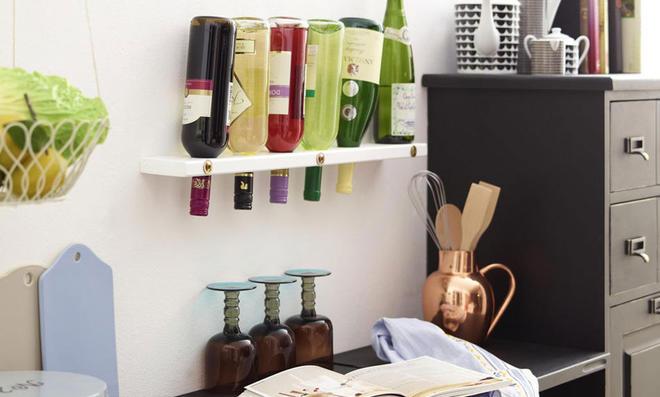 Flaschenregal selber bauen