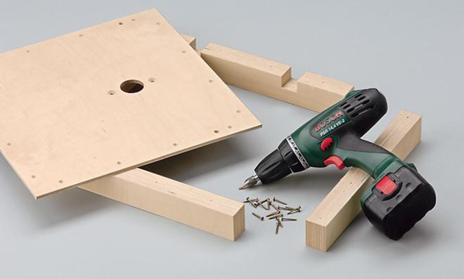 Rahmen montieren