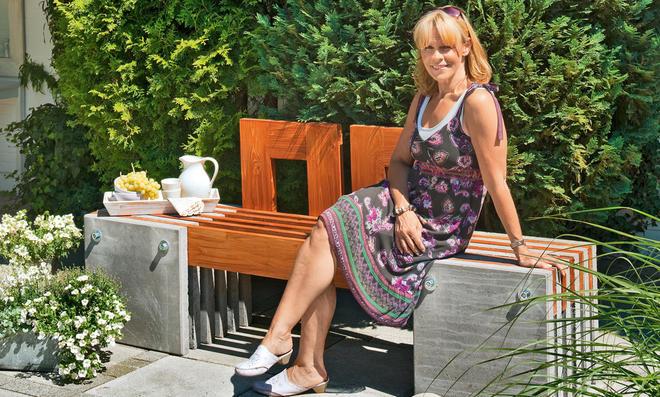 Gartenmöbel selber bauen beton  Gartenbank aus Beton | selbst.de