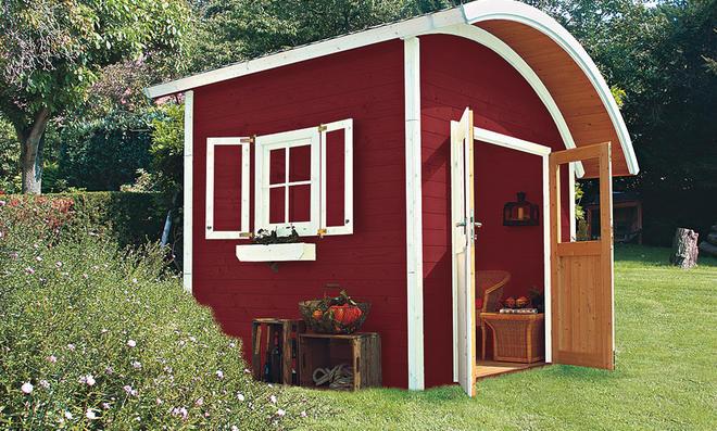 gartenhaus bausatz holz free robustes und groes. Black Bedroom Furniture Sets. Home Design Ideas