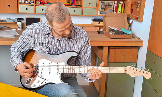 E-Gitarre selber bauen