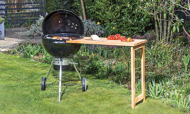 grill beistelltisch selber bauen die sch nsten. Black Bedroom Furniture Sets. Home Design Ideas