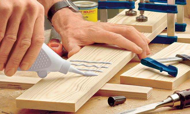 Wie funktioniert eigentlich Holzleim?