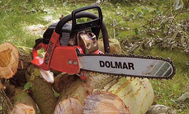 Brennholzsäge von Dolmar