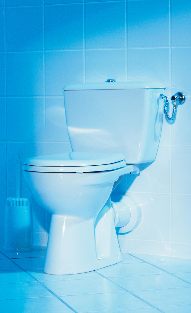 Stand-WC montieren