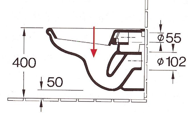 Tiefspül-WC