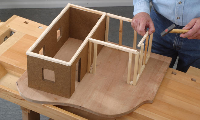 bauplan bauern krippe. Black Bedroom Furniture Sets. Home Design Ideas