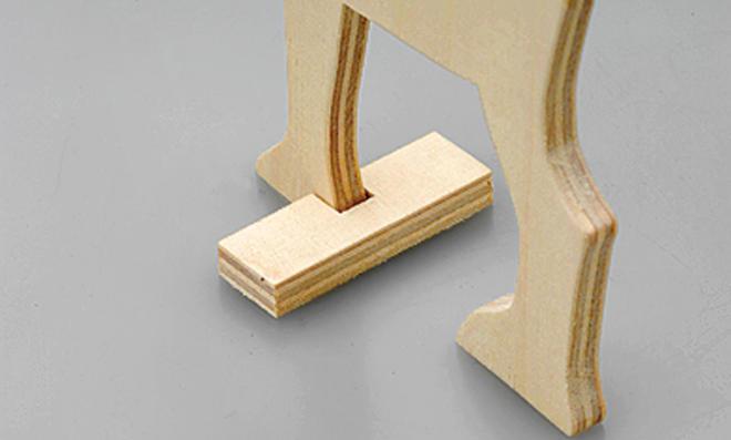 Bauplan: Moderne Krippe