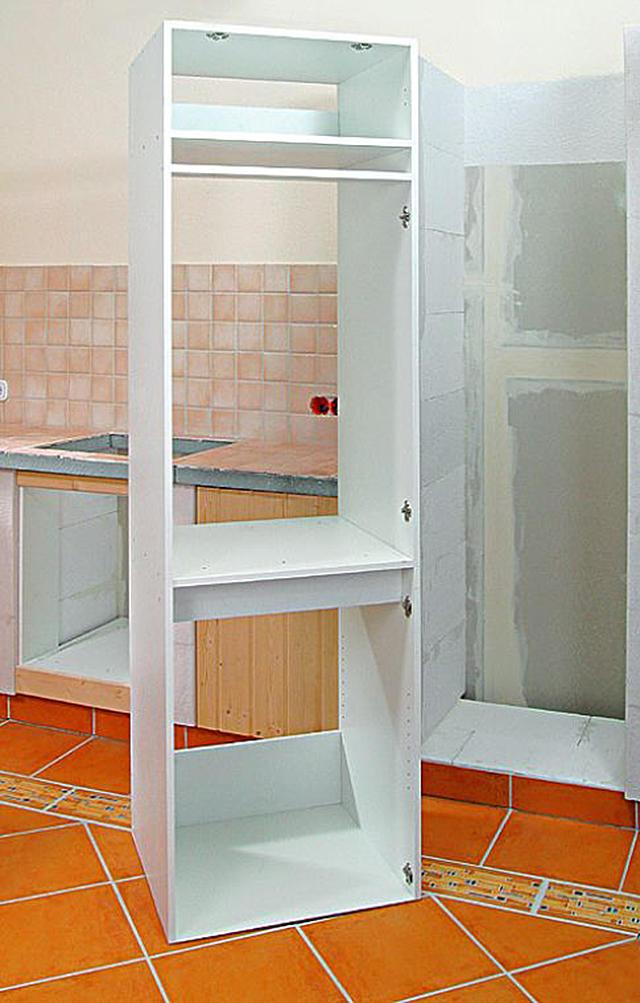 Küchenbau aus Porenbeton