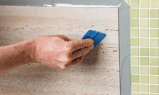Brandneu Küchenspiegel mit Vinylfliesen | selbst.de RE69