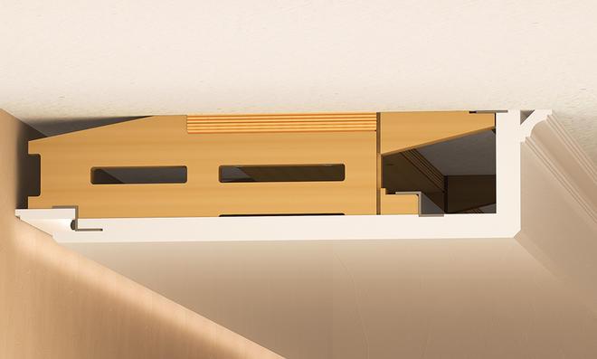 indirekte beleuchtung wohnzimmer selber bauen. Black Bedroom Furniture Sets. Home Design Ideas