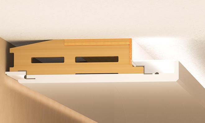 led-deckenbeleuchtung | selbst.de, Wohnzimmer dekoo