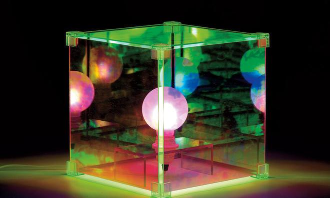 Plexiglas beleuchtet