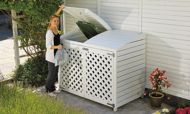 Bevorzugt Mülltonnenbox | selbst.de PP99