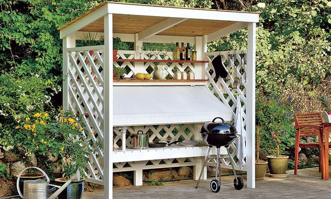 Outdoor Küche Diy : Outdoorküche selber bauen selbst.de