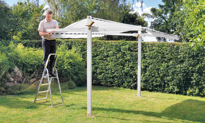 Gartenpavillon selber bauen  Pavillon selber bauen | selbst.de
