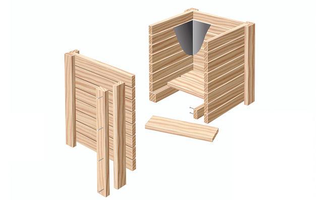 Holz-Pflanzkübel | selbst.de