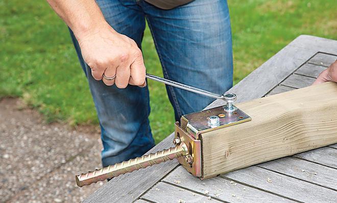 Fußboden Ohne Beton ~ Zaunpfosten einbetonieren selbst