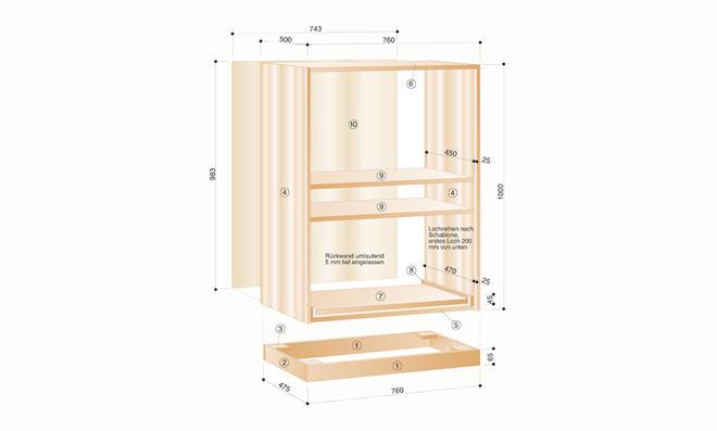 raffrollo selber bauen cool cool elegant wunderbare inspiration with schrank rollo selber bauen. Black Bedroom Furniture Sets. Home Design Ideas