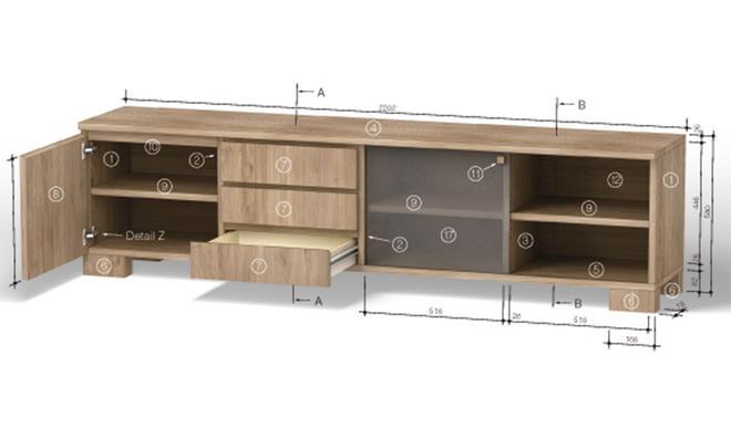 Sideboard Hinter Sofa sideboard bauen selbst de