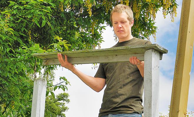 Zaun: Gartenpforte bauen