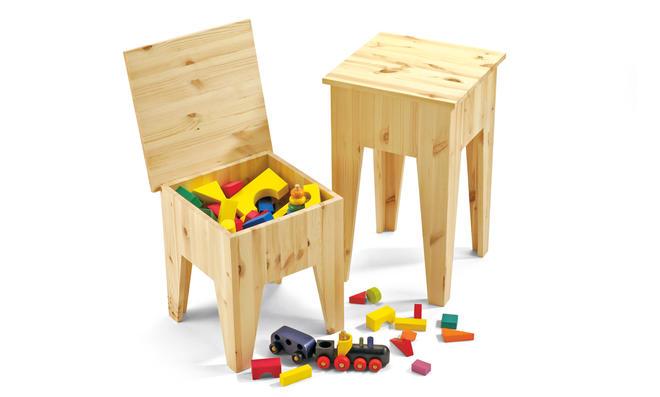 Sitzhocker bauen