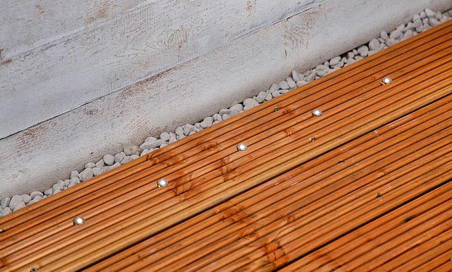 Holzterrasse beleuchtung - Beleuchtung terrasse ...