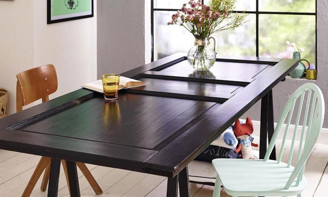 Hervorragend Tür Als Tischplatte Verwenden