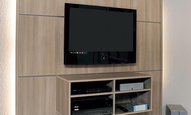 Media wand selber bauen stein  TV-Wand | selbst.de