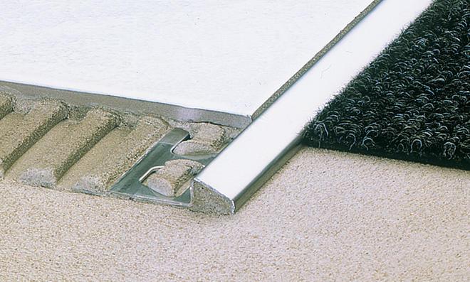 Fußboden Unterschiedliche Höhe ~ Übergangsprofil einbauen selbst.de