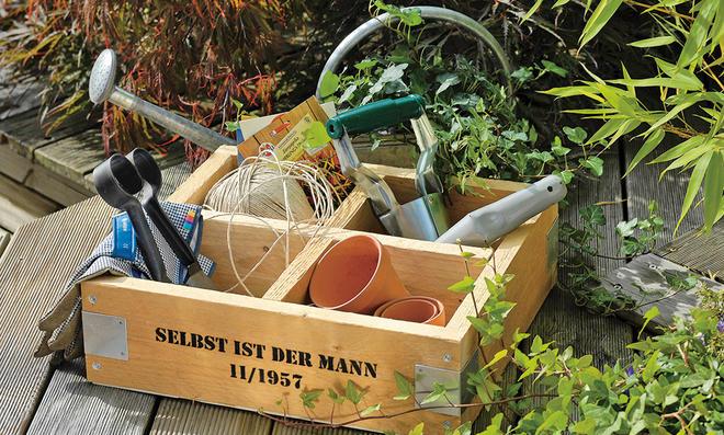 Garten-Aufbewahrungsbox