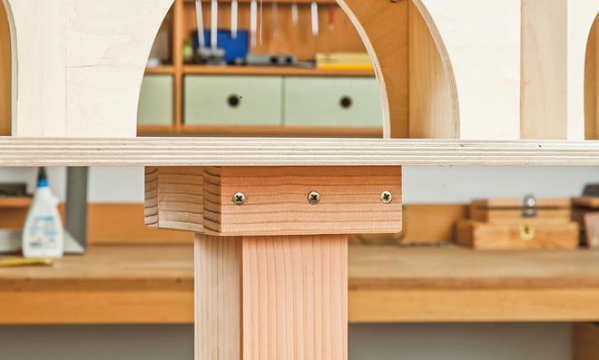 Vogelfutterhaus Bauanleitung