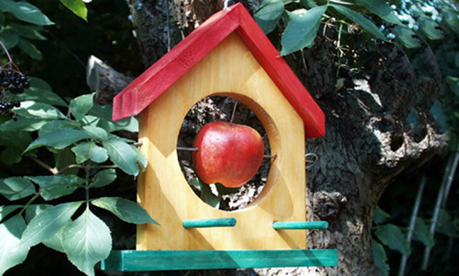 Vogelfutterhaus Selber Bauen Selbst De