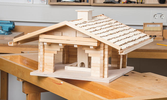 bausatz vogelhaus excellent holzbausatz vogelhaus. Black Bedroom Furniture Sets. Home Design Ideas