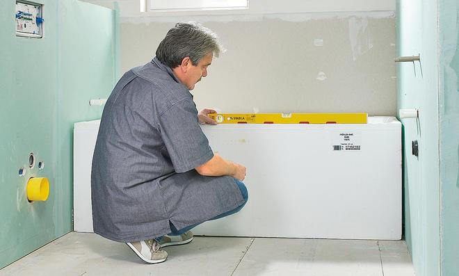 Bekannt Badewanne einbauen | selbst.de VV24