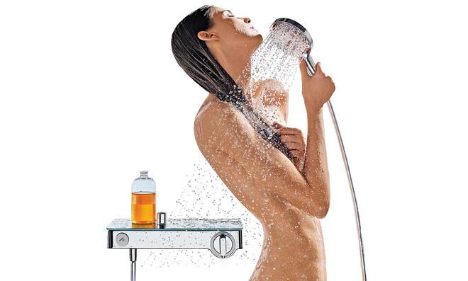 Armaturen, die Wasser sparen