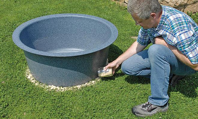 Wassersäule bauen