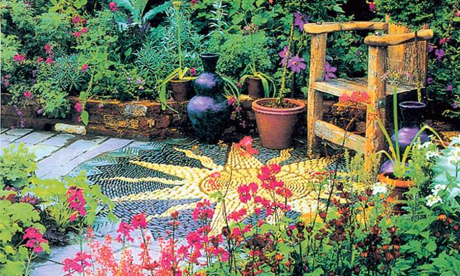 Gartenweg gestalten