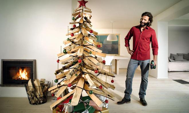 Super Tannenbaum aus Holz bauen | selbst.de SN42
