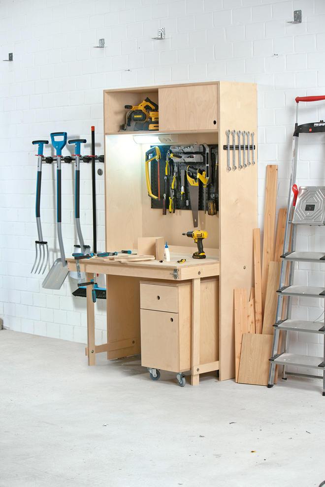 Werkbank bauen - Mobel selber bauen holz ...