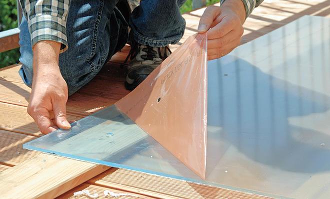 balkon windschutz. Black Bedroom Furniture Sets. Home Design Ideas