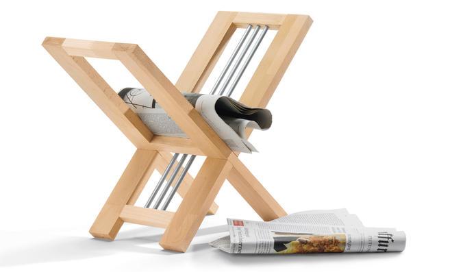 Zeitungsständer bauen