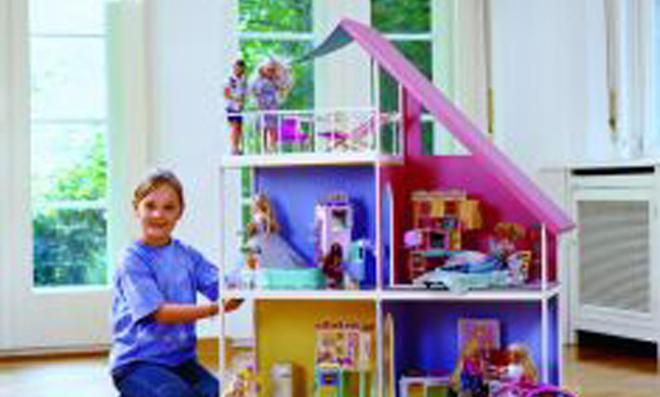 Barbie-Haus selber bauen