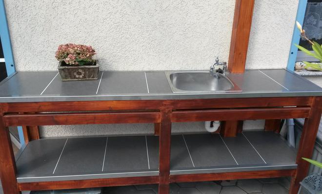 Fundament Für Außenküche : Grill bau das fundament boxxbeidl