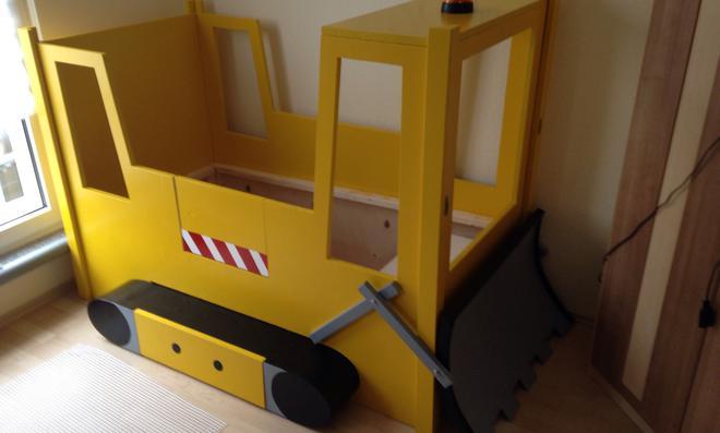 Kinderbett baggerbett  Userprojekt / Möbel & Holz | selbst.de