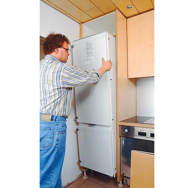 Kühlschrank Restaurierung