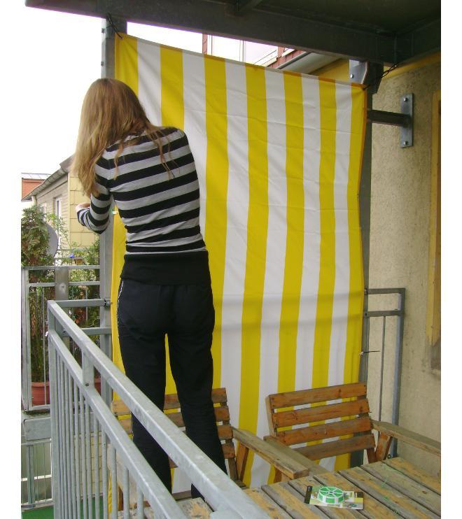 Sichtschutz auf dem Balkon   selbst.de