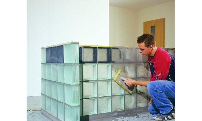 Bett selber bauen glasbausteine  Glasbausteine verlegen   selbst.de