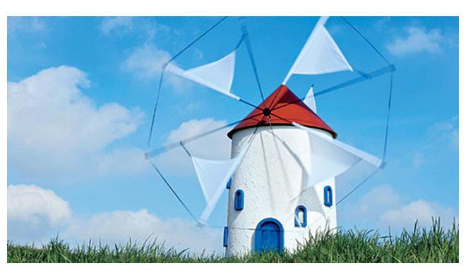 Griechische Windmühle